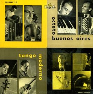 tango moderno. octeto buenos aires